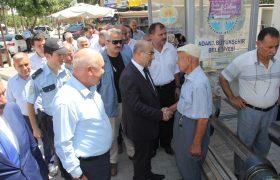 Vali Demirtaş'tan Karaisalı İlçesine Ziyaret